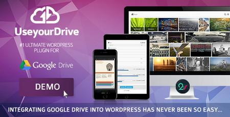 افزونه اتصال گوگل درایو به وردپرس Use your Drive نسخه 1.14.11