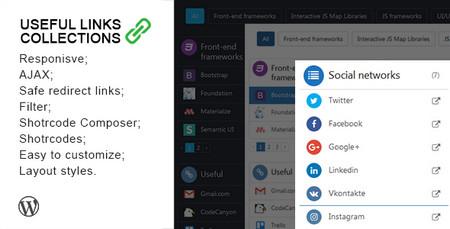 افزونه ایجاد باکس لینک های مفید در وردپرس Useful Links Collections