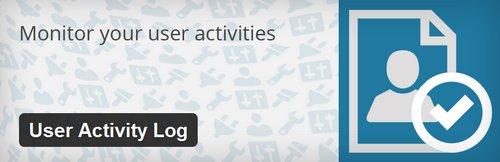 افزونه وقایع نگاری User Activity Log برای وردپرس