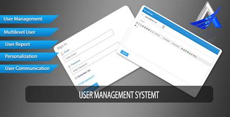 اسکریپت مدیریت کاربران User Management System