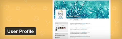 افزونه وردپرس پروفایل کاربری مشابه فیس بوک User Profile