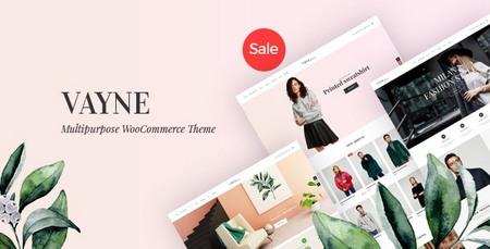 دانلود قالب فروشگاهی Vayne برای وردپرس