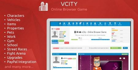 اسکریپت بازی آنلاین زندگی مجازی vCity