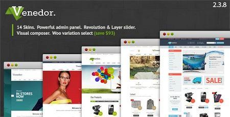 دانلود قالب فروشگاهی و چند منظوره Venedor فارسی نسخه 2.3.8 برای وردپرس