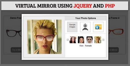 اسکریپت سرگرمی آینه مجازی