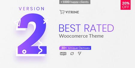 دانلود قالب فروشگاهی Vitrine برای ووکامرس