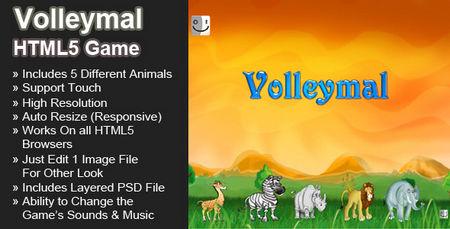 اسکریپت بازی آنلاین والیبال حیوانات Volleymal نسخه 1.1