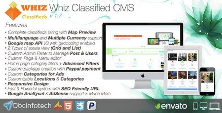 اسکریپت ایجاد سایت آگهی و تبلیغات WhizClassified نسخه 1.7 | بیست ...... آگهی ، قابلیت تعیین مکان آگهی به وسیله نقشه گوگل می تواند گزینه مناسبی برای راه اندازی وب سایت آگهی باشد. قابلیت های کلی این سیستم فوق العاده را نام می ...