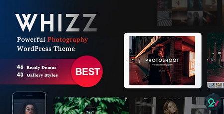 دانلود قالب عکاسی Whizz برای وردپرس