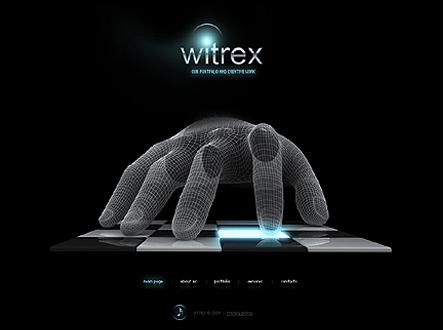 دانلود قالب بسیار زیبای Witrex به صورت فلش