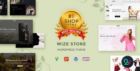 دانلود پوسته فروشگاهی WizeStore برای وردپرس