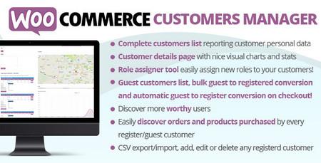 افزونه مدیریت مشتریان در ووکامرس WooCommerce Customers Manager