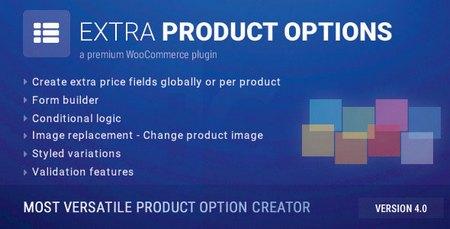 افزونه ساخت گزینه های دلخواه ووکامرس WooCommerce Extra Product Options