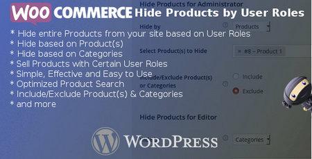 افزونه مخفی کردن محصولات براساس سطح کاربری در ووکامرس