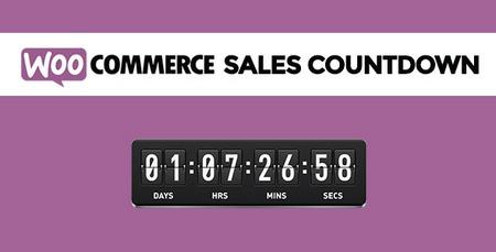 افزونه ایجاد پیشنهاد شگفت انگیز محصولات ووکامرس WooCommerce Sales Countdown