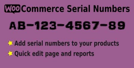 افزونه درج سریال برای محصولات ووکامرس WooCommerce Serial Numbers