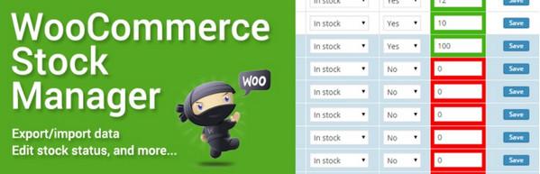 مدیریت موجودی انبار در ووکامرس با افزونه WooCommerce Stock Manager