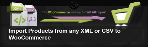 افزونه وارد کردن محصولات از فایل XML و CSV به ووکامرس