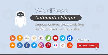 افزونه ارسال مطالب اتوماتیک WordPress Automatic Plugin نسخه 3.50.9