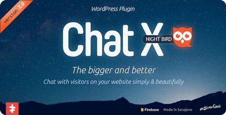 افزونه چت و پشتیبانی زنده Chat X برای وردپرس