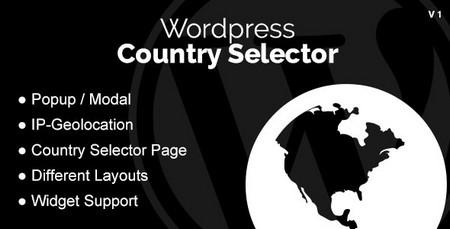 افزونه نمایش محتوا براساس کشور بازدیدکننده Country Selector