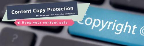 جلوگیری از کلیک راست در وردپرس با افزونه WP Content Copy Protection & No Right Click