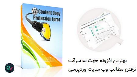افزونه محافظت از محتوای وردپرس WP Content Copy Protection Pro