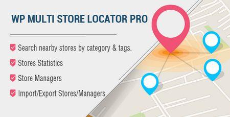افزونه فروشگاه یاب وردپرس Multi Store Locator Pro