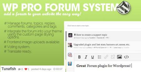 افزونه انجمن ساز حرفه ای وردپرس WP Pro Forum System