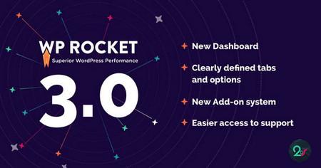 افزونه افزایش سرعت سایت وردپرسی WP Rocket نسخه 3.1.2