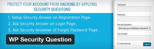 اضافه نمودن سوال امنیتی در صفحه ورود وردپرس