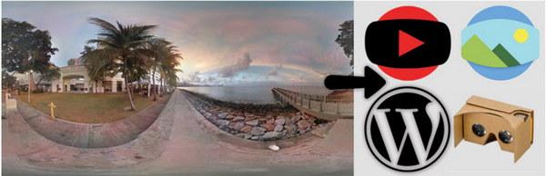 نمایش تصاویر ۳۶۰ درجه در وردپرس با افزونه WP VR view