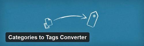 افزونه تبدیل موضوعات به برچسب در وردپرس Categories to Tags Converter