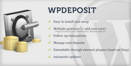 افزونه سپرده وردپرس WPdeposit