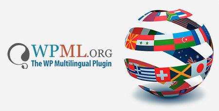 افزونه چند زبانه کردن سایت وردپرس WPML نسخه 4.0.6 به همراه افزودنی ها