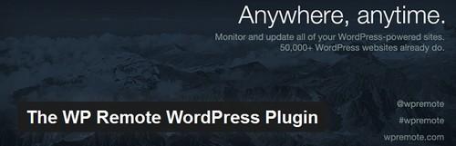 افزونه کنترل چندین سایت وردپرسی با یک پیشخوان WP Remote WordPress