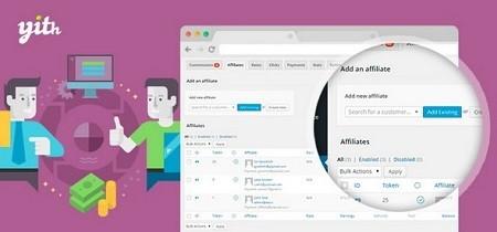افزونه فارسی همکاری در فروش ووکامرس YITH WooCommerce Affiliates Premium