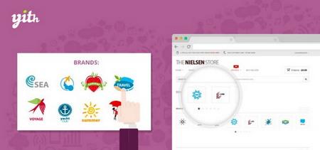 افزونه نمایش برند محصولات در ووکامرس YITH WooCommerce Brands Add On