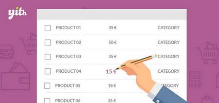 افزونه ویرایش گروهی محصولات ووکامرس YITH WooCommerce Bulk Product Editing