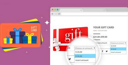 افزونه ارائه گیفت کارت به مشتریان در ووکامرس YITH WooCommerce Gift Cards نسخه 3.1.4