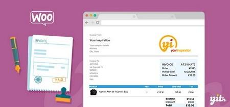 افزونه ایجاد فاکتور به صورت PDF در ووکامرس YITH WooCommerce PDF Invoice and Shipping List