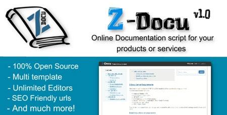 ایجاد مستندات و داکیومنت آنلاین با اسکریپت Z Docu