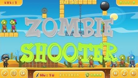 اسکریپت بازی آنلاین شکارچی زامبی Zombie Shooter