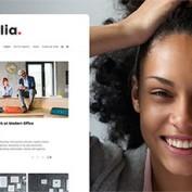 پوسته وبسایت شخصی Alia برای وردپرس