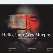 قالب نمونه کار و رزومه Ares Murphy برای جوملا