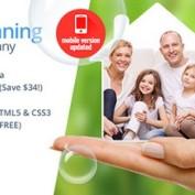پوسته ارائه خدمات منزل Cleaning Services برای وردپرس