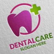 دانلود طرح لایه باز لوگوی دندان و دندانپزشکی