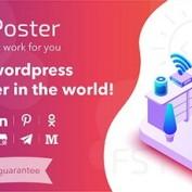افزونه ارسال خودکار مطالب به شبکه های اجتماعی FS Poster