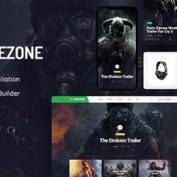 پوسته بازی های کامپیوتری Gamezone برای وردپرس