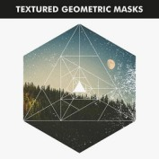 ماسک و قالب عکس اشکال هندسی قابل استفاده در فتوشاپ